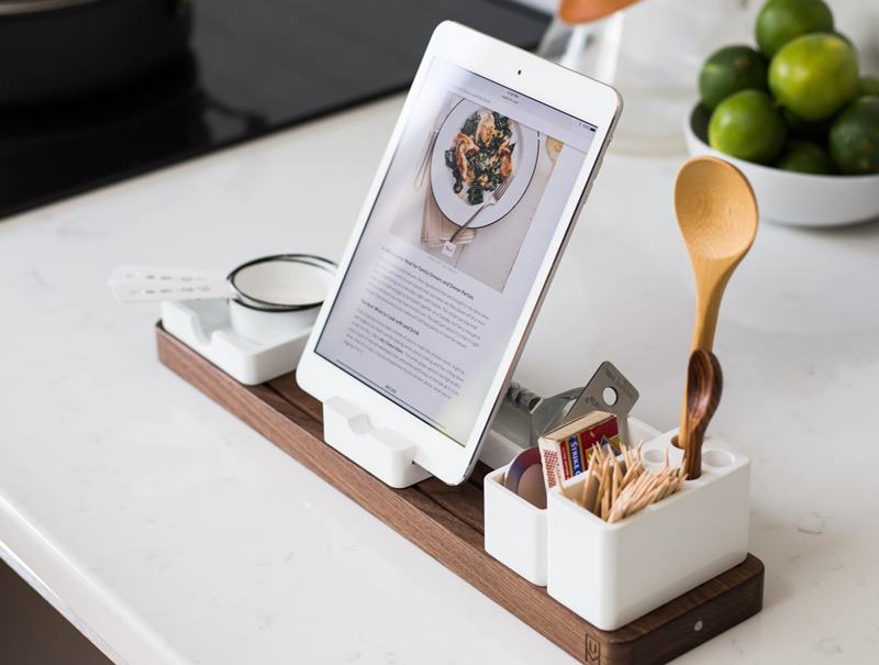Recipe on a tablet