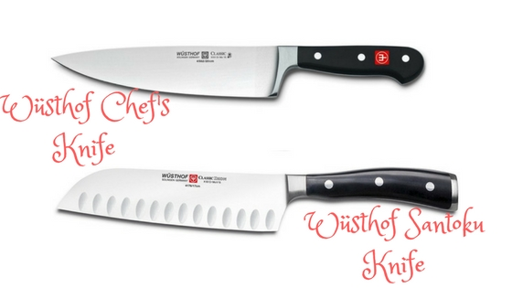 Wustof Chef vs. Santuko knives