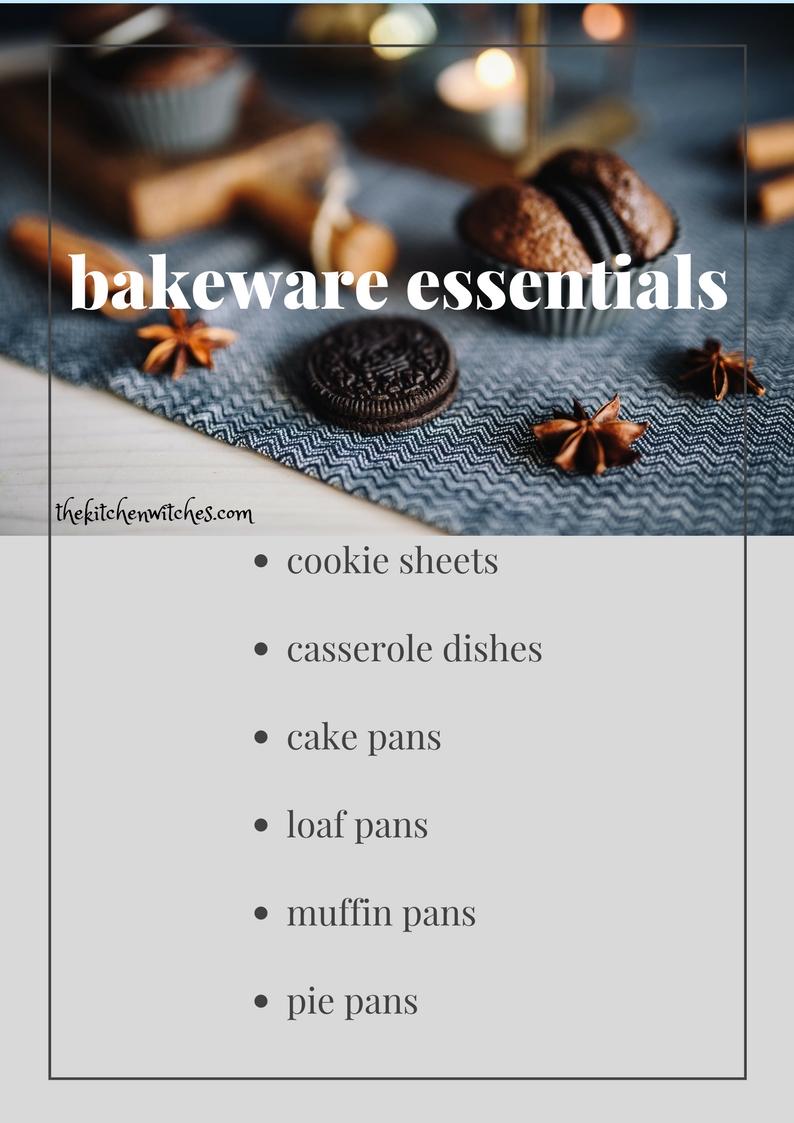 bakeware essentials