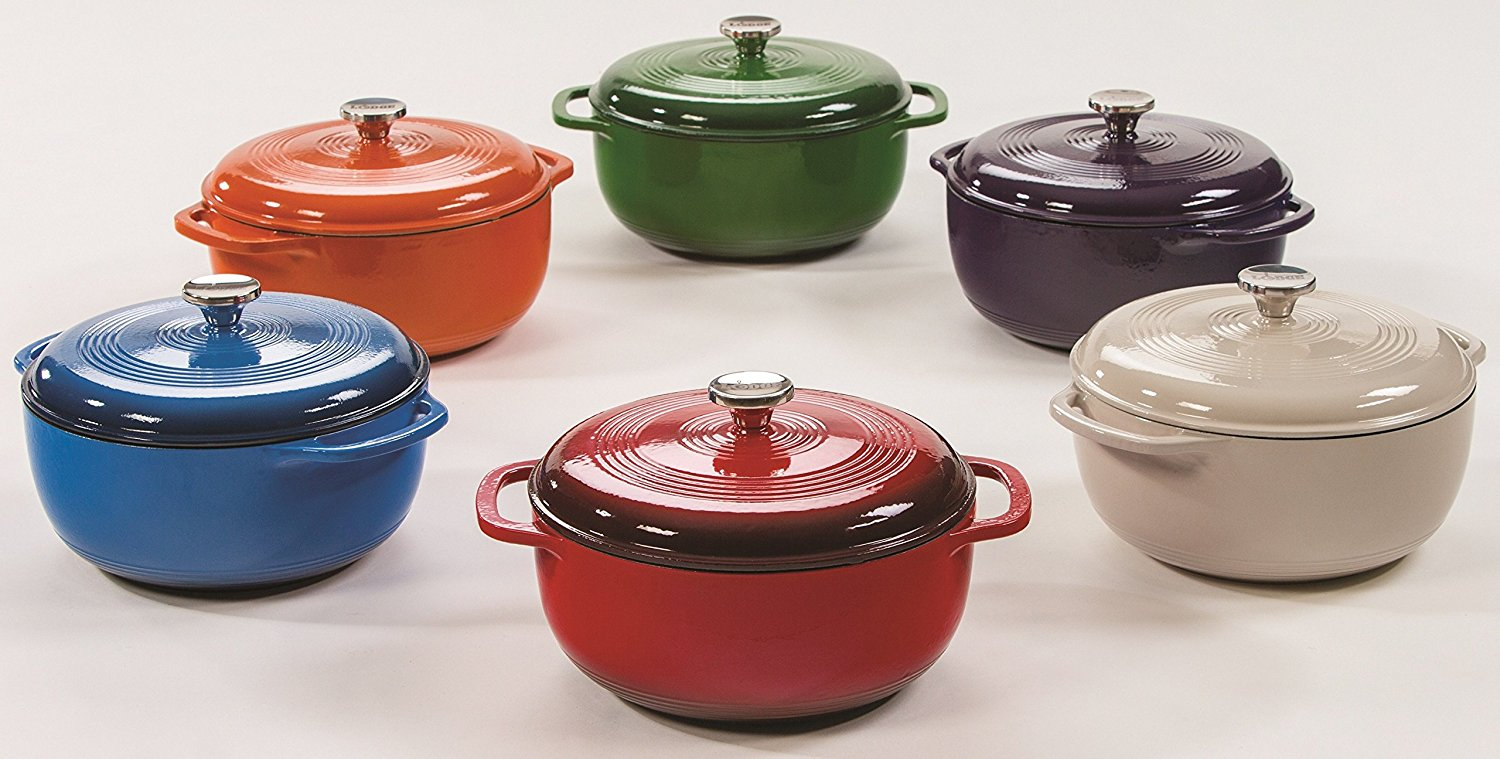 Lodge Enameled Cast Iron Dutch Oven Review