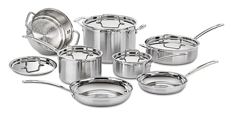 Cuisinart Multiclad Pro Stainless Steel Cookware 12-Piece Set Review