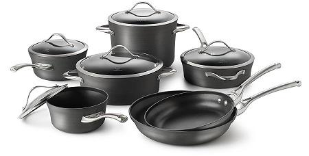 Calphalon Aluminum Nonstick 12-Piece Cookware Set