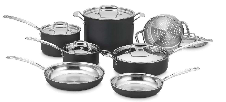 Cuisinart MultiClad 12-Piece Cookware Set Review