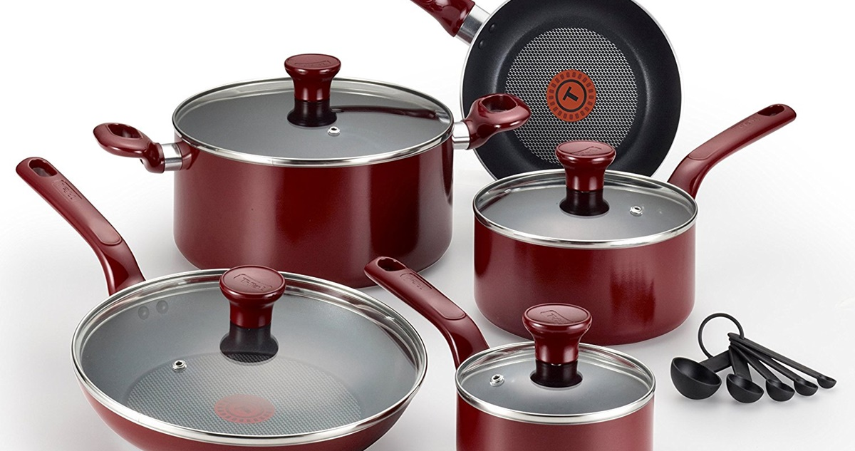 T-fal Excite 14-Piece Nonstick Cookware Review