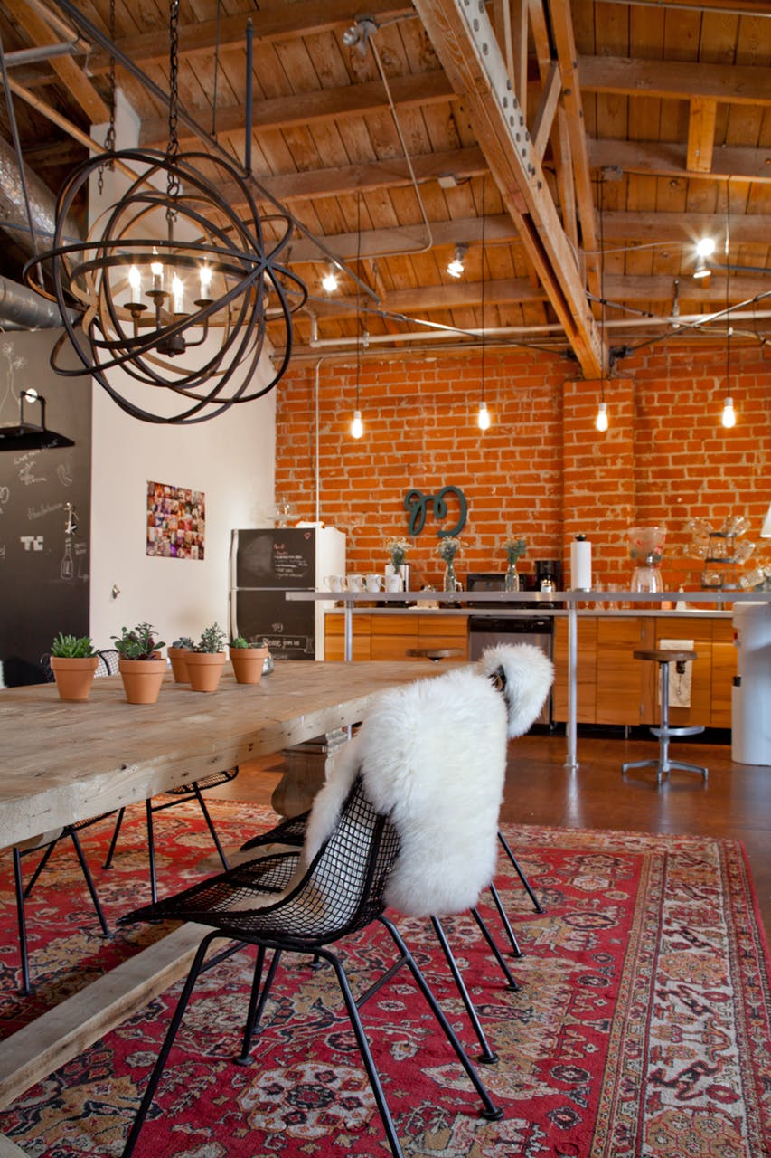 Eclectic Boho Dining Room