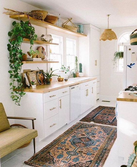 Modern Boho Kitchens Chic Eclectic Style The Kitchen Witches