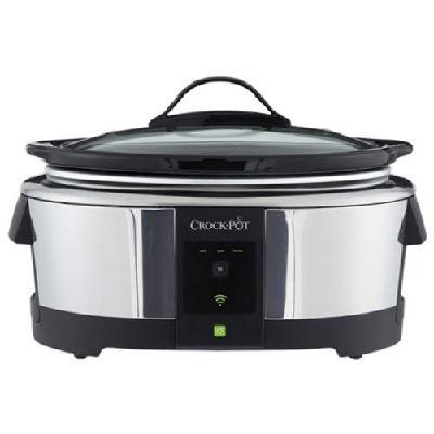 Crock-Pot 6-Quart WeMo Wi-Fi Enabled Slow Cooker