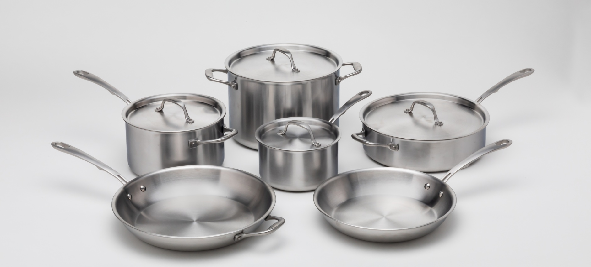 Kitchara Cookware 10-Piece Stainless Steel Set Hands-On ...