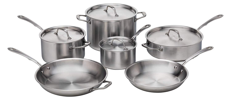 kitchara stainless cookware set
