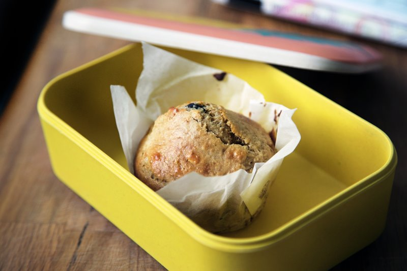 Yellow food container