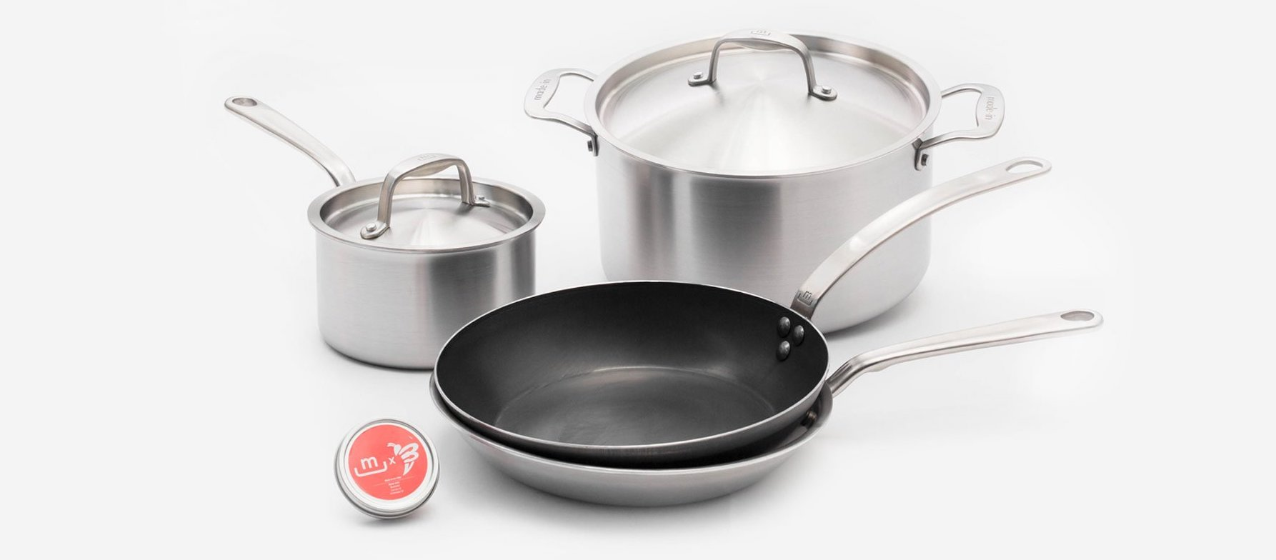 made in cookware starter set